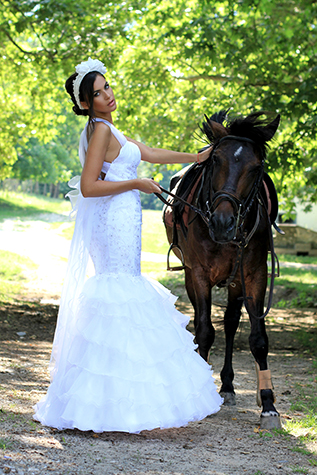 Bridal dress Begonya