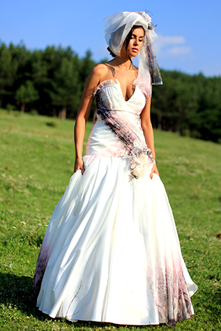 Bridal dress Agapanthys