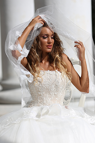 Bridal dress ss14fm03