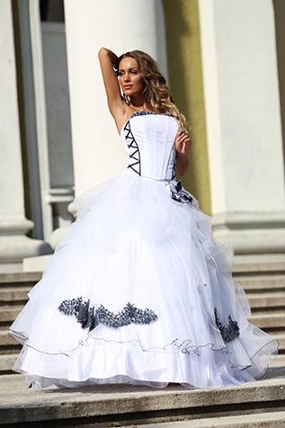 Bridal dress ss14fm04