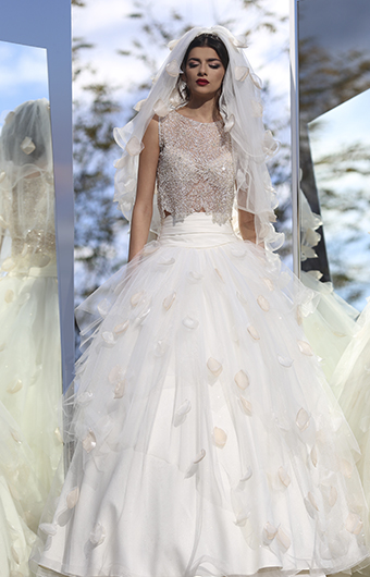 Bridal dress alexandra 2015