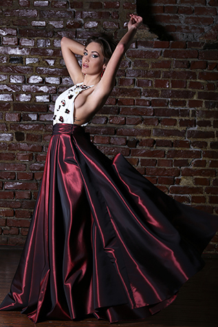 Evening gown SS14ev04