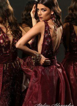 Evening dress VELVET TOUCH Lysel