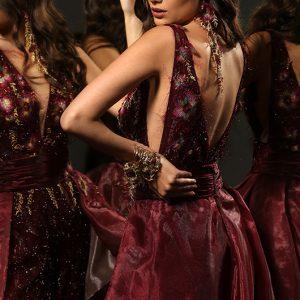 Вечерна рокля VELVET TOUCH Лизел