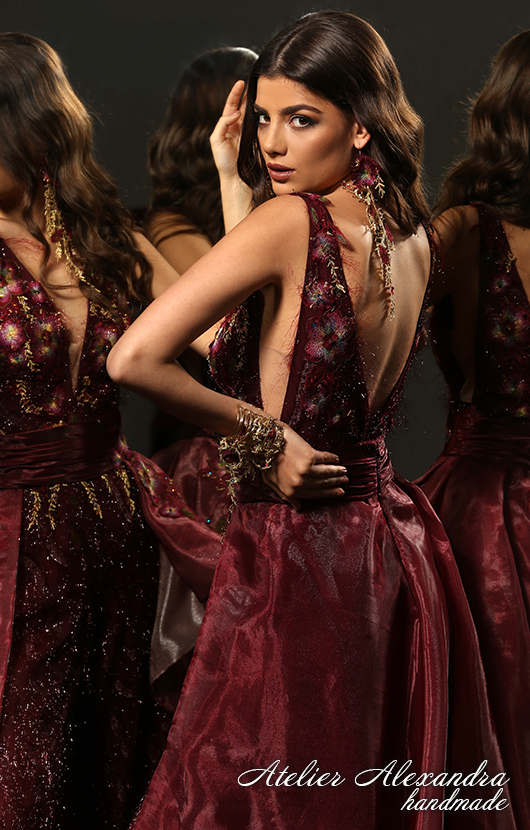 Evening dress VELVET TOUCH Lysel