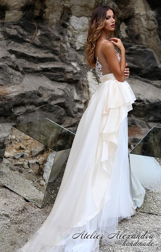 Булчинска рокля Усещане