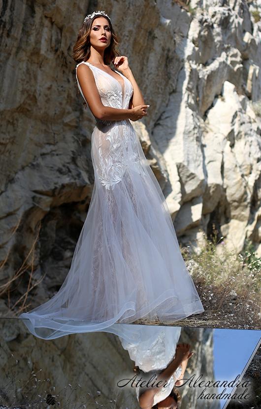 Булчинска рокля Полъх