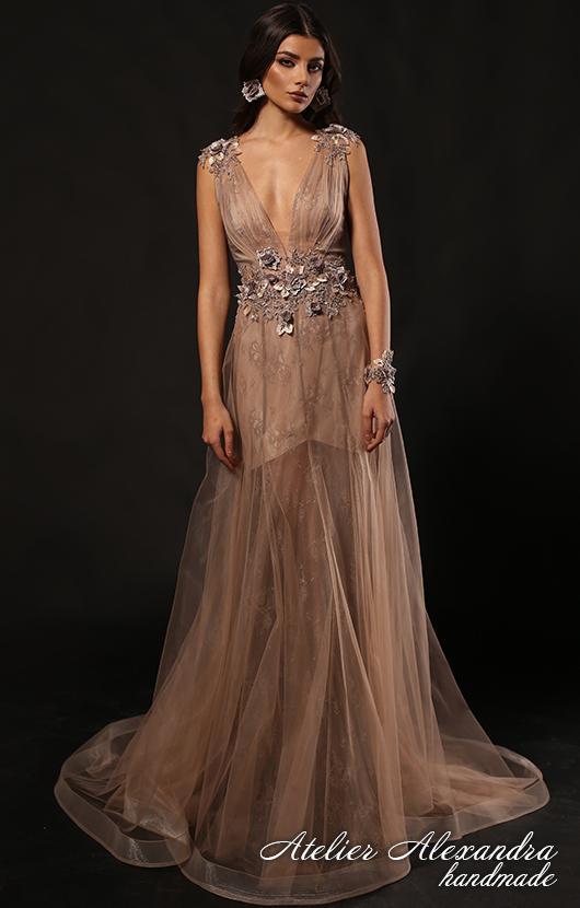 Evening dress VELVET TOUCH Neychar