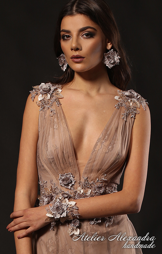 Evening dress VELVET TOUCH Neychar