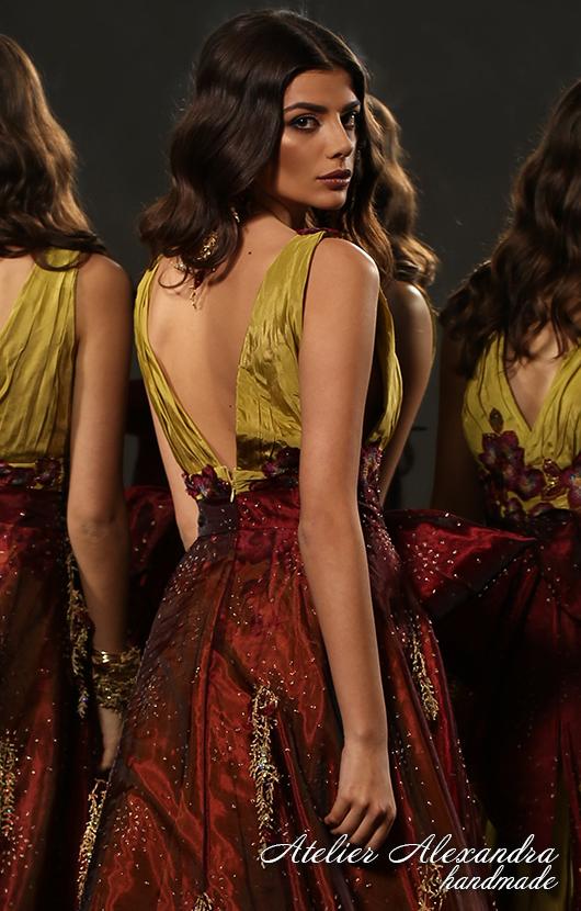 Вечерна рокля VELVET TOUCH Докосване