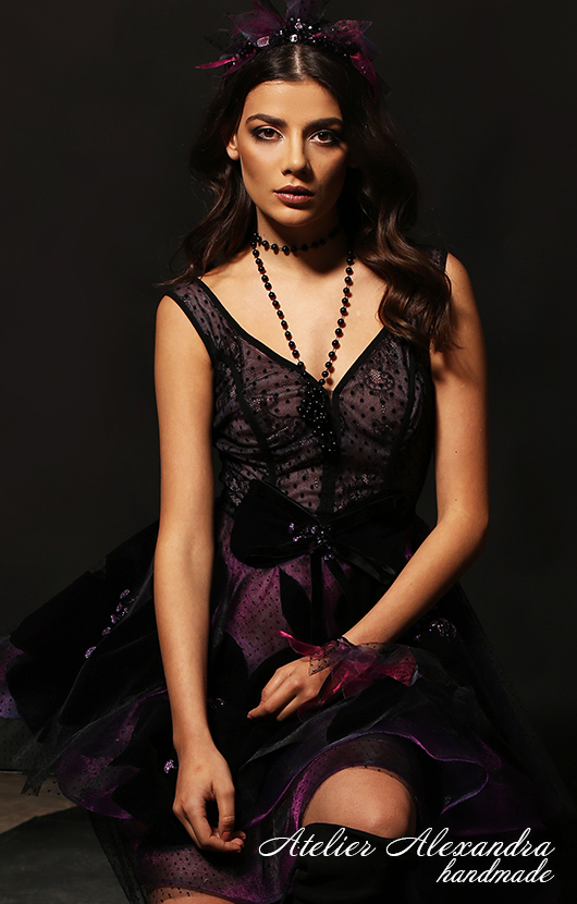 Evening dress VELVET TOUCH Vien