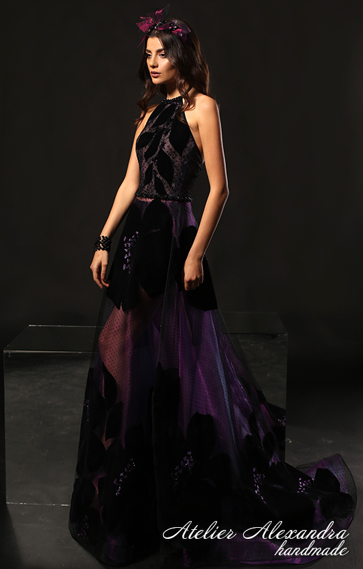 Evening dress VELVET TOUCH Leis