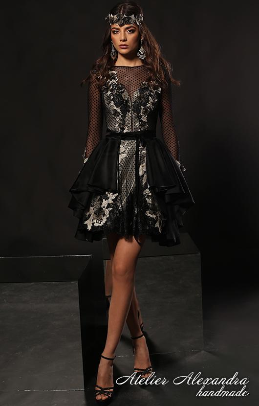 Evening dress VELVET TOUCH Layla