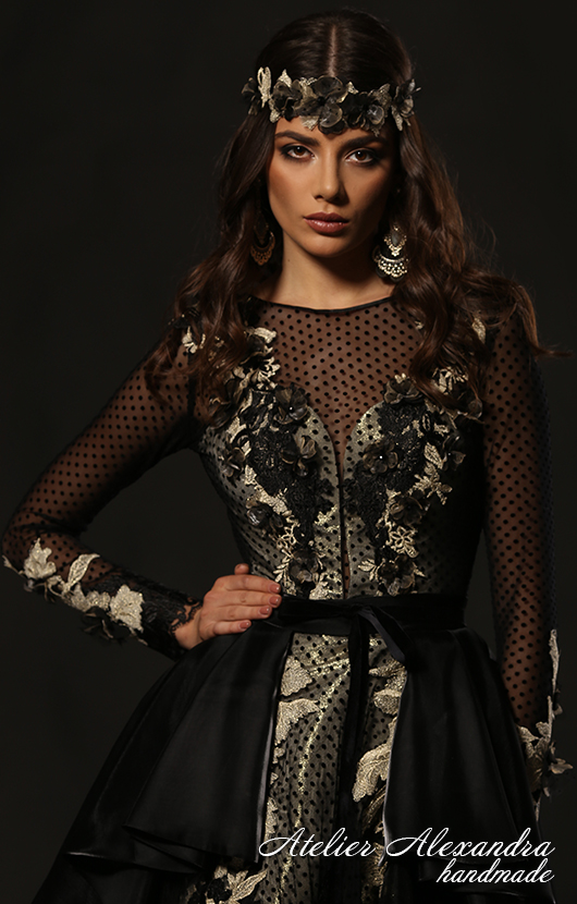 Evening dress VELVET TOUCH Layla