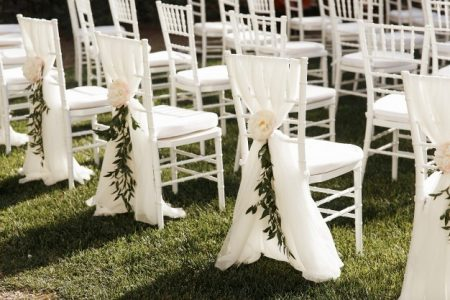 Стилове сватба - градинска сватба, булчинска рокля