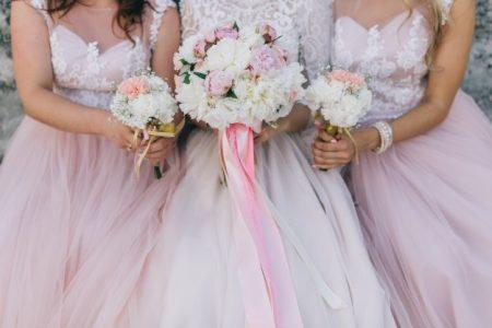 Как да изберем нашите шаферки, булчинска рокля, сватба